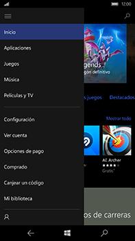 Microsoft Lumia 950 XL - Aplicaciones - Descargar aplicaciones - Paso 5