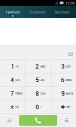 Huawei Y3 - Voicemail - handmatig instellen - Stap 4