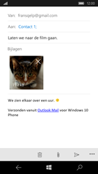 Microsoft Lumia 650 - E-mail - Bericht met attachment versturen - Stap 15
