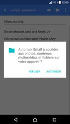 Sony Xperia X - E-mails - Envoyer un e-mail - Étape 15