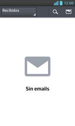 LG Optimus L5 II - E-mail - Configurar correo electrónico - Paso 4