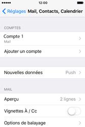 Apple iPhone 4 S iOS 9 - E-mail - Configuration manuelle - Étape 17