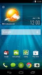 Acer Liquid Jade - Voicemail - Handmatig instellen - Stap 1