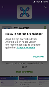 Samsung Galaxy J7 (2016) (J710) - Applicaties - MyProximus - Stap 10