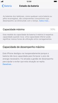 Apple iPhone 7 Plus iOS 11 - Bateria - Desactivar a gestão de desempenho -  7