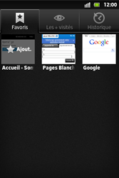 Sony ST27i Xperia Go - Internet - Navigation sur Internet - Étape 11