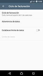 Sony Xperia XZ - Android Nougat - Internet - Ver uso de datos - Paso 8