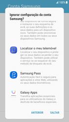 Samsung Galaxy S6 Edge - Android Nougat - Primeiros passos - Como ligar o telemóvel pela primeira vez -  13