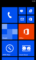 Nokia Lumia 520 - Network - Manually select a network - Step 1
