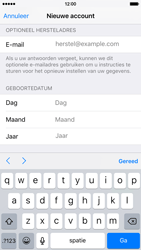 Apple iPhone 6 iOS 9 - Applicaties - Account aanmaken - Stap 14