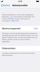 Apple iphone-5s-met-ios-11-model-a1457 - iOS 11 - Conditie van de batterij controleren - Stap 5