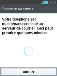 LG E430 Optimus L3 II - E-mail - Configuration manuelle - Étape 20
