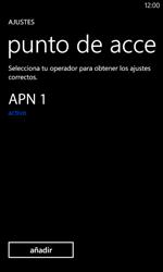 Nokia Lumia 520 - Internet - Configurar Internet - Paso 7