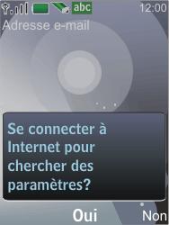 Nokia 7210 supernova - E-mail - Configuration manuelle - Étape 11