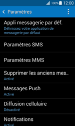 Samsung G357 Galaxy Ace 4 - SMS - Configuration manuelle - Étape 6