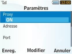 Samsung S3350 Chat 335 - MMS - configuration manuelle - Étape 10