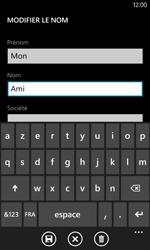 Nokia Lumia 520 - Contact, Appels, SMS/MMS - Ajouter un contact - Étape 7