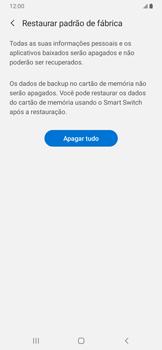Samsung Galaxy A20 - Funções básicas - Como restaurar as configurações originais do seu aparelho - Etapa 8