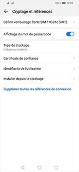 Huawei P Smart (2019) - Sécurité - modifier SIM PIN - Étape 6