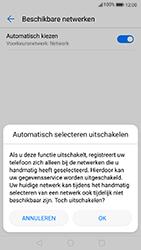 Huawei P8 Lite (2017) - Netwerk - Handmatig netwerk selecteren - Stap 10