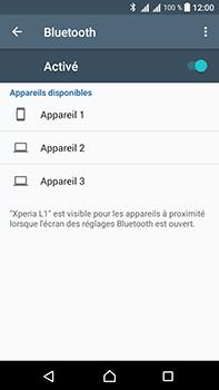 Sony Xperia L1 - WiFi et Bluetooth - Jumeler votre téléphone avec un accessoire bluetooth - Étape 6