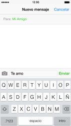 Apple iPhone 5s - Mensajería - Escribir y enviar un mensaje multimedia - Paso 8