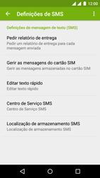 Wiko Rainbow Jam DS - SMS - Como configurar o centro de mensagens -  6