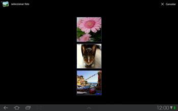 Samsung P7500 Galaxy Tab 10-1 - Mensajería - Escribir y enviar un mensaje multimedia - Paso 12