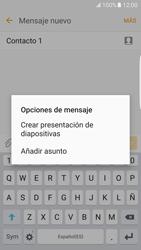 Samsung Galaxy S7 Edge - Mensajería - Escribir y enviar un mensaje multimedia - Paso 14