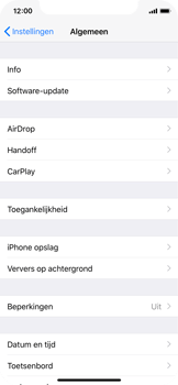 Apple iPhone X - Toestel - Software update - Stap 5