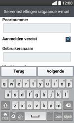 LG Optimus L70 (LG-D320n) - E-mail - Handmatig instellen - Stap 15