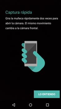 Motorola Moto X Play - Funciones básicas - Uso de la camára - Paso 6