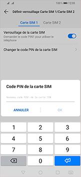Huawei P Smart (2019) - Sécurité - modifier SIM PIN - Étape 11