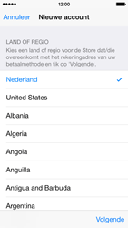 Apple iPhone 5 (iOS 8) - apps - account instellen - stap 10
