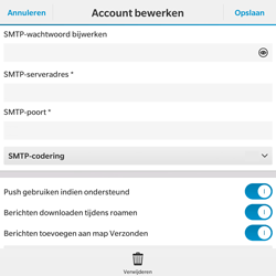 BlackBerry Passport - E-mail - Instellingen KPNMail controleren - Stap 14
