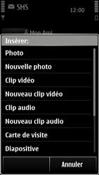 Nokia 500 - MMS - envoi d'images - Étape 8