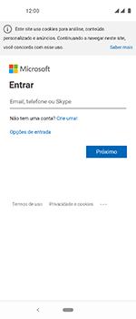 Motorola One Vision - Email - Como configurar seu celular para receber e enviar e-mails - Etapa 8