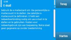 Nokia N97 - E-mail - e-mail instellen: POP3 - Stap 8