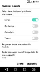 LG K4 (2017) - E-mail - Configurar Outlook.com - Paso 9