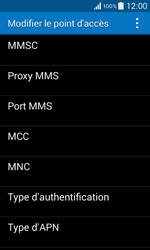 Samsung G355 Galaxy Core 2 - MMS - configuration manuelle - Étape 12