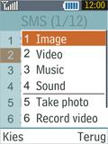 Samsung B2100 Xplorer - MMS - Sending pictures - Step 9