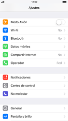 Apple iPhone 6 - iOS 11 - Red - Seleccionar el tipo de red - Paso 3