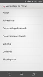 Sony Xperia E4g - Sécuriser votre mobile - Activer le code de verrouillage - Étape 6