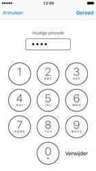 Apple iPhone 5 met iOS 10 (Model A1429) - Beveiliging en ouderlijk toezicht - Hoe wijzig ik mijn SIM PIN-code - Stap 7