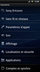 Sony Ericsson Xperia Ray - Internet - configuration manuelle - Étape 5