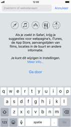 Apple iPhone 7 iOS 11 - Internet - Hoe te internetten - Stap 4