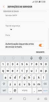 Samsung Galaxy S9 - Email - Configurar a conta de Email -  13