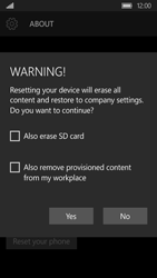 Acer Liquid M330 - Device - Reset to factory settings - Step 8