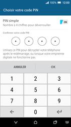 HTC One A9 - Sécuriser votre mobile - Activer le code de verrouillage - Étape 10