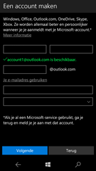 Microsoft Lumia 650 - Applicaties - Account aanmaken - Stap 15